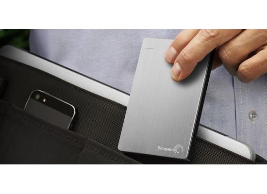 SEAGATE BackupPlus Slim Portable HDD - 1TB, Silver