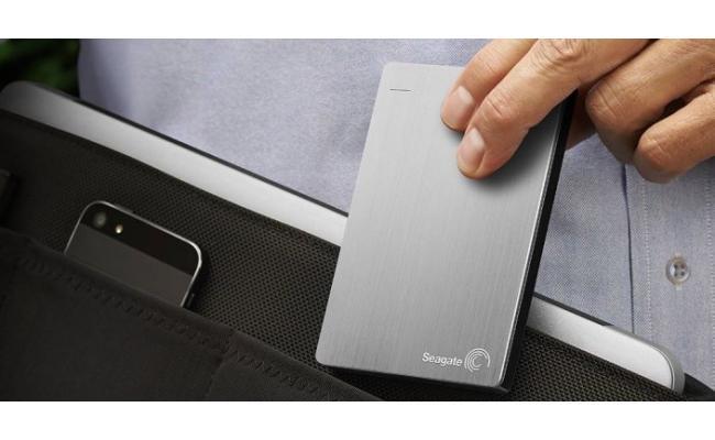 SEAGATE BackupPlus Slim Portable HDD - 1TB, Silver