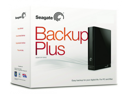 Seagate Backup Plus 2TB USB 3.0 Desktop External