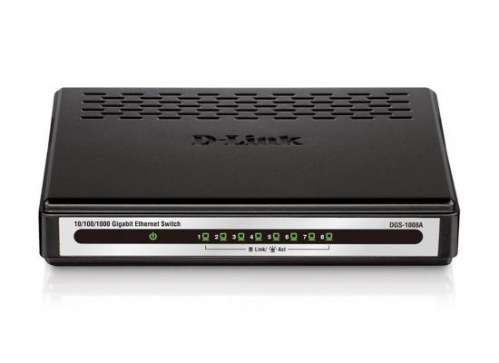 D-Link DGS-1008A Gigabit Desktop Switch