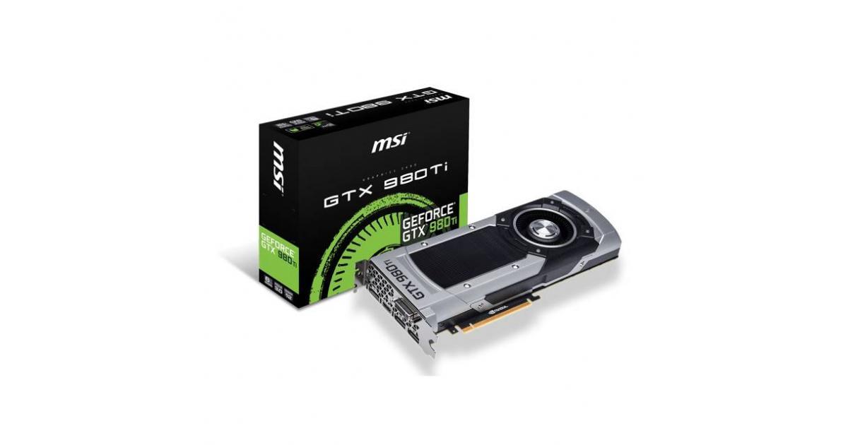 MSI NVIDIA GeForce GTX 980 Ti 6G GDDR5 | GTX 980TI 6GD5 | City Center For  Computers | Amman Jordan