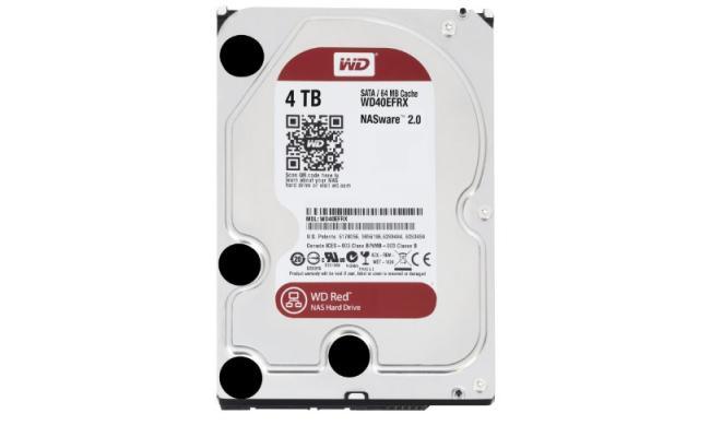 Western Digital Red 4TB  Hard Drive (3.5 inch)