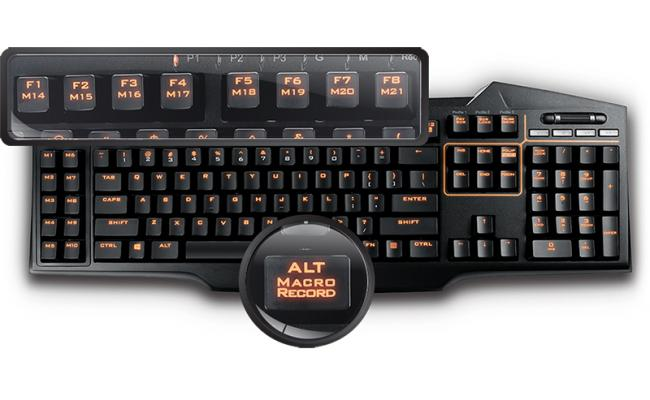 ASUS STRIX TACTIC PRO Gaming Mechanical Keyboard