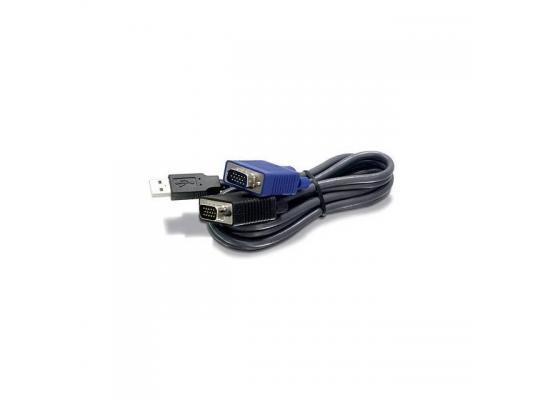 TRENDnet USB VGA KVM Male to Male Cable,
