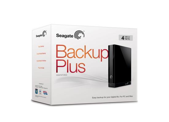 Seagate 4TB Backup Plus External Desktop USB 3.0