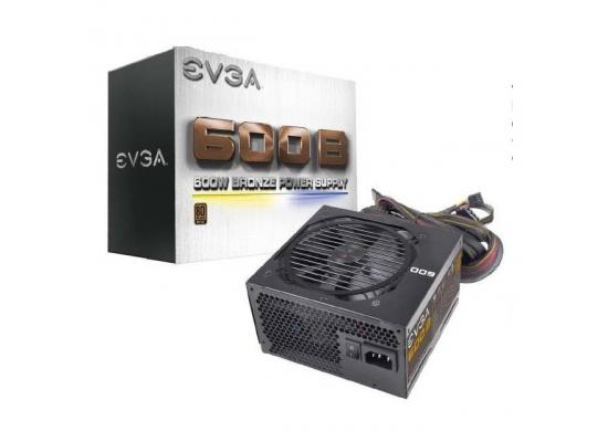 EVGA 600B 100-B1-3600-KB 600W 80 PLUS Bronze