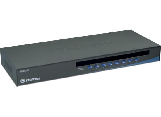 TRENDnet TK-803R 8-Port Rack Mount USB KVM
