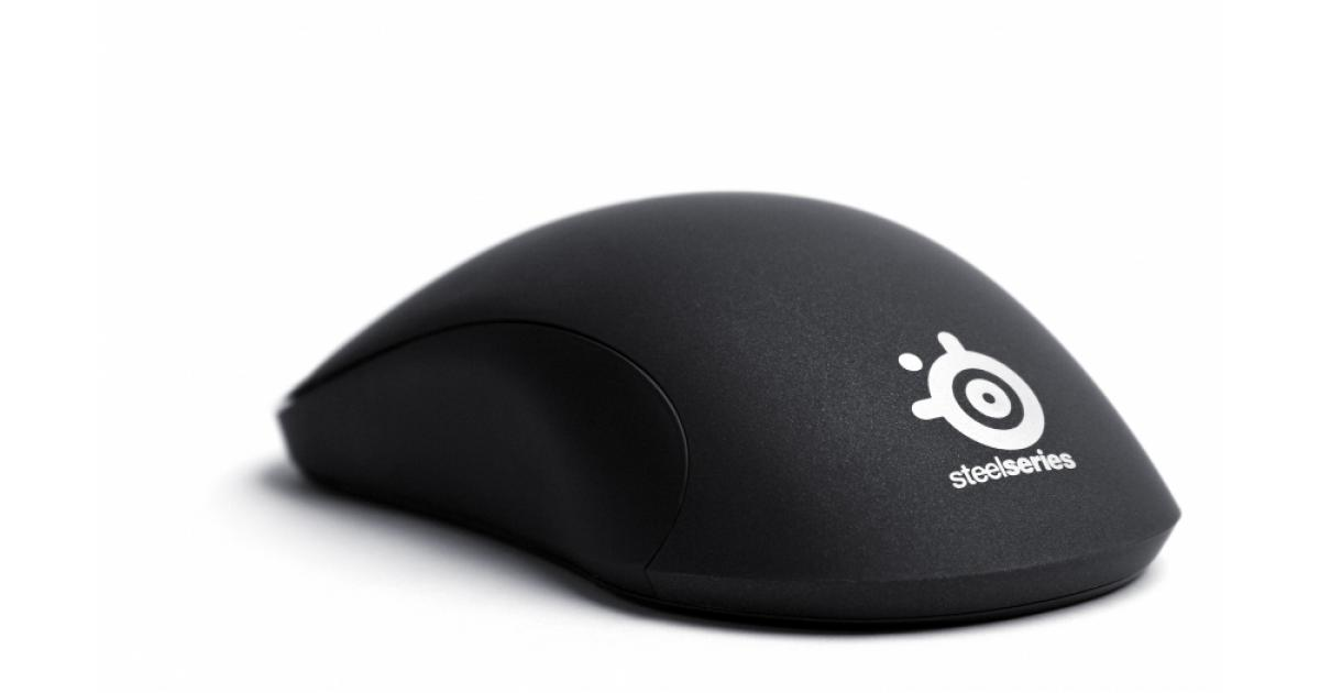 STEELSERIES KINZU V3 Optical Gaming Performance Mouse 62312 Black