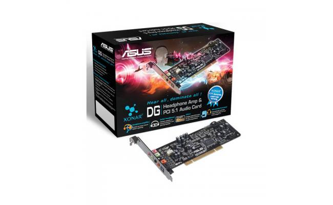 Asus Xonar DG PCI 5.1 Channel Sound Card