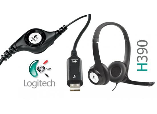 Logitech H390 USB ClearChat Comfort Headset w/ Mic