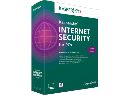 KASPERSKY lab Internet Security 2018 For 1+1 Free