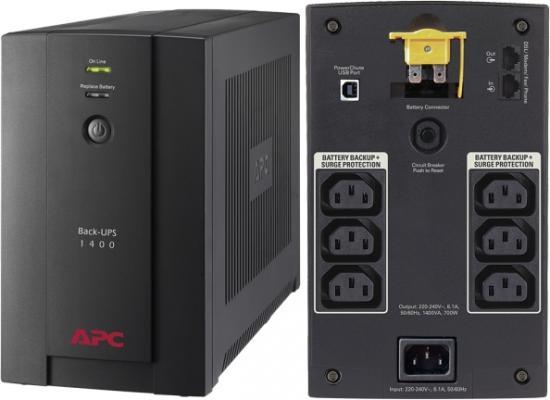 APC Back-UPS BX1400UI 1400 VA 700 Watts 8 Outlets UPS
