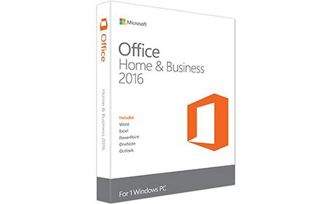 Microsoft Office Home and Business 2016 (1 License)