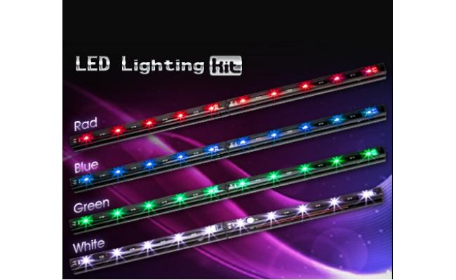 Xigmatek Xi-Ray LED Lighting KIT ( RED )