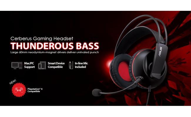Asus Cerberus Gaming Headset PC/MAC/PS4