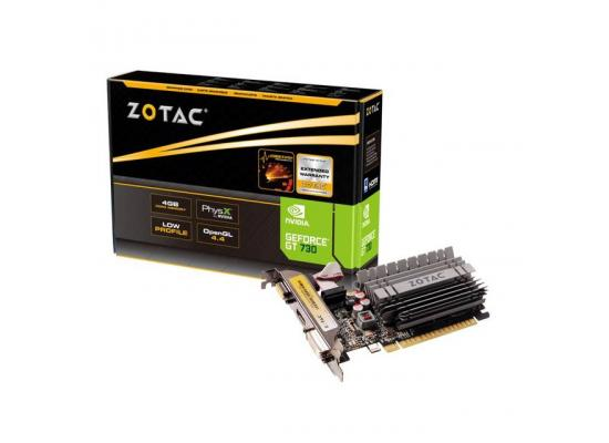 ZOTAC NVIDIA GeForce GT 730 4GB DDR3  Video Card