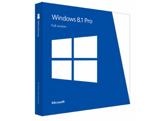 Microsoft Windows 8.1 Pro 64-Bit English (1 Pack), OEM