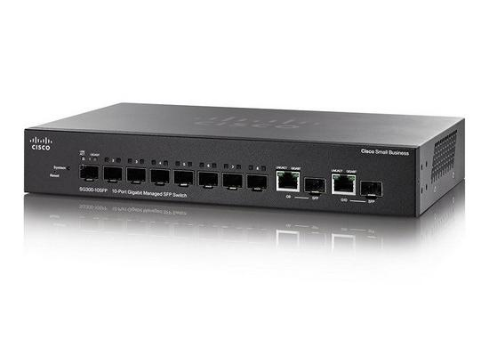 Cisco SG300-10PP Managed 10 Port Gigabit PoE