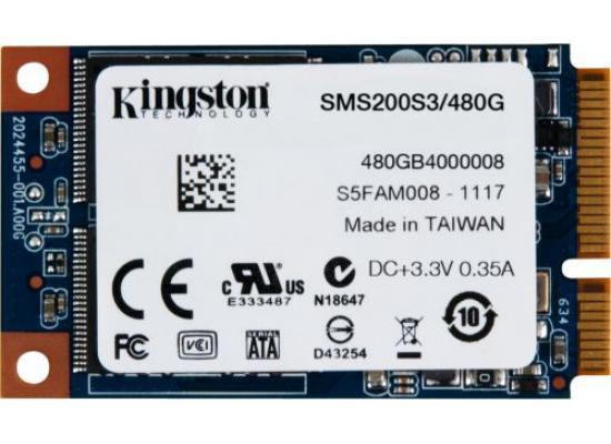 Kingston SSDNow  mSATA 480GB SATA 6Gb/s SSD