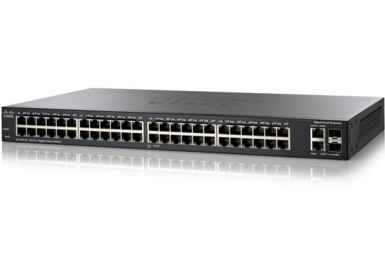 Cisco SLM2048T Smart SG200 50 Ports Gigabit Switch