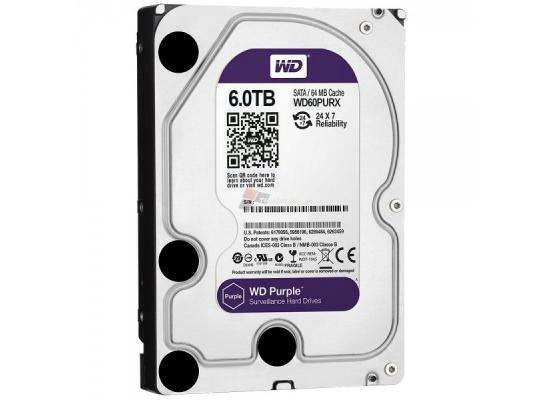 Western Digital Purple 6TB SATA3 Hard Drive