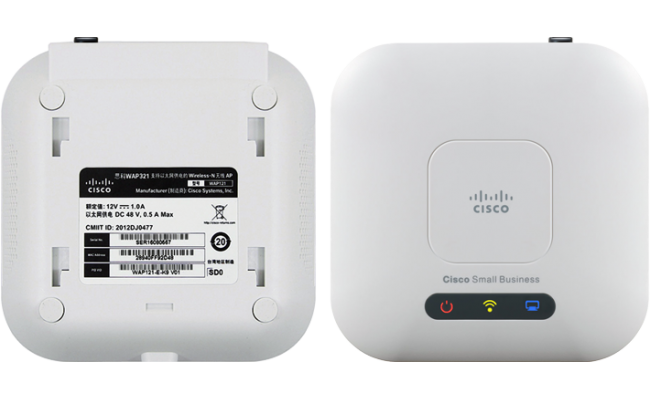 Cisco WAP321-E-K9 Wireless-N  Access Point w/ PoE (( Open Box ))