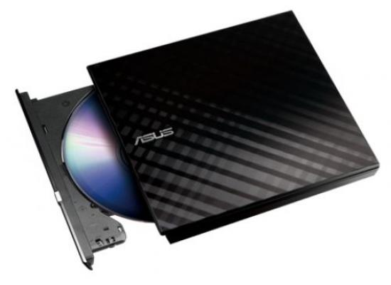 Asus 8X Slim External DVD Writer(Black), Retail