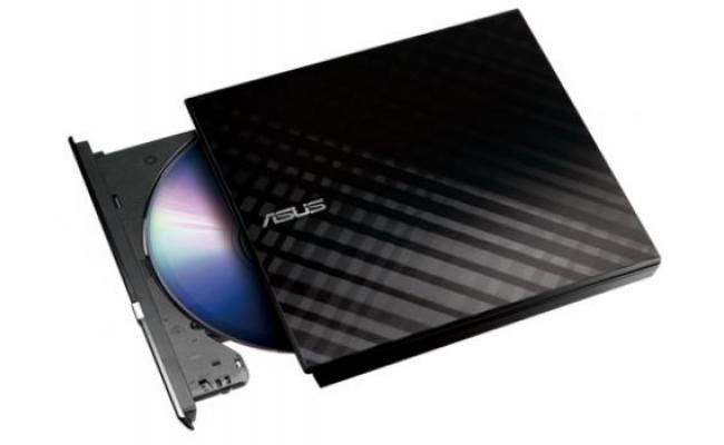 Asus 8X Slim External DVD Writer(Black), Retail