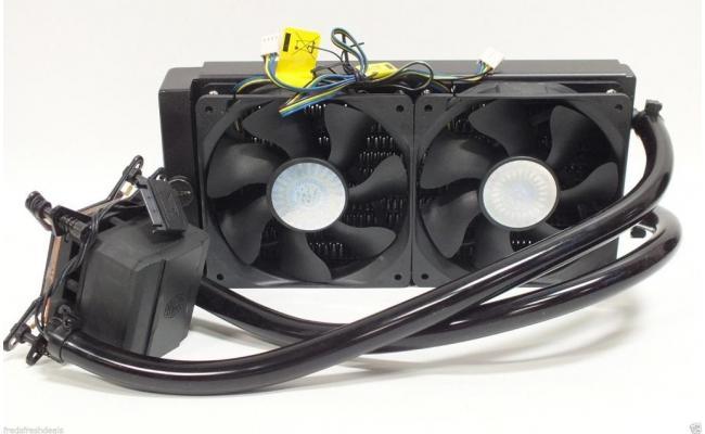 Cooler Master Glacer 240L v2 CPU Liquid Cooling System