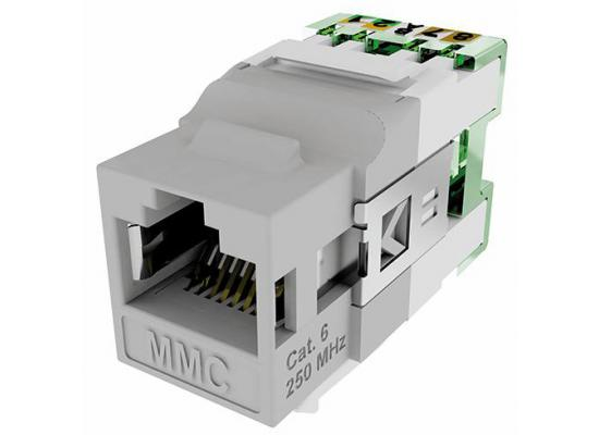 MMC CAT6 RJ45 MODULAR JACK UNSHIELDED