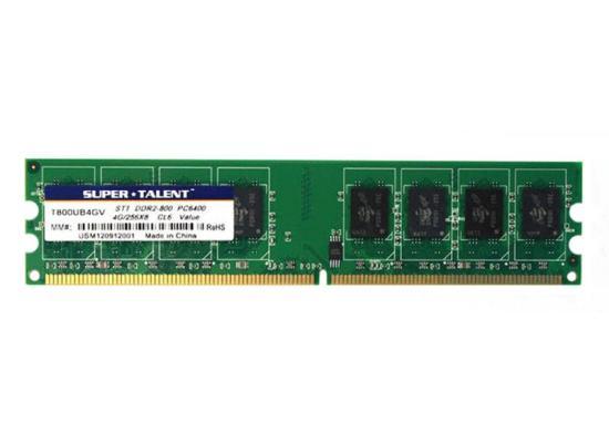 Super Talent DDR2-800 4GB Value Memory