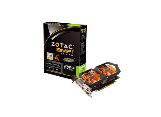 ZOTAC NVIDIA GeForce GTX 760 AMP! Edition 2GB GDDR5