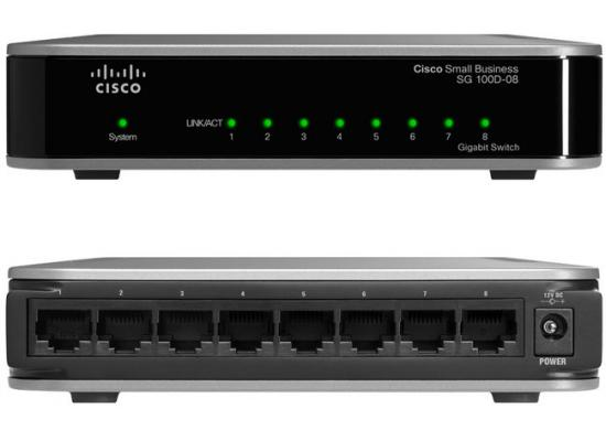 Cisco 8 Ports  Gigabit Switch