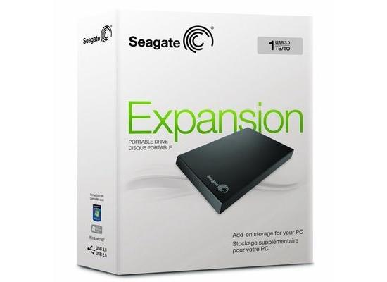 "Seagate 1TB Expansion Portable 2.5"" USB 3.0/2.0 Ext"