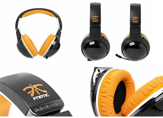 SteelSeries 7H Gaming Headset - FNATIC EDITION