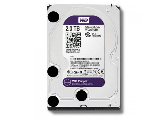 Western Digital Purple 2TB IntelliPower Hard Drive