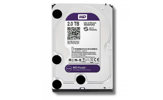 Western Digital Purple 2TB IntelliPower Hard Drive