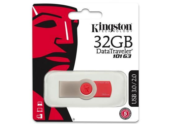 Kingston 32GB DT101G3 USB 3.0 Drive (Black)