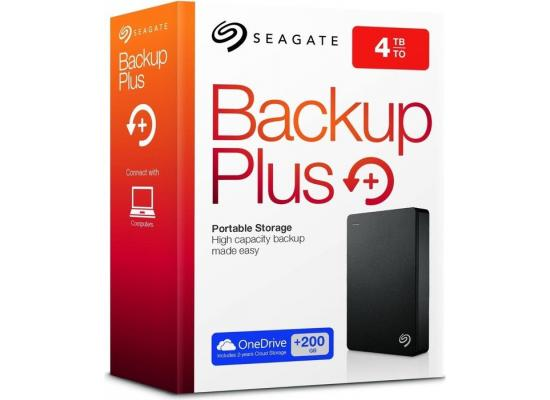 Seagate 4TB Backup Plus Portable HDD USB 3.0