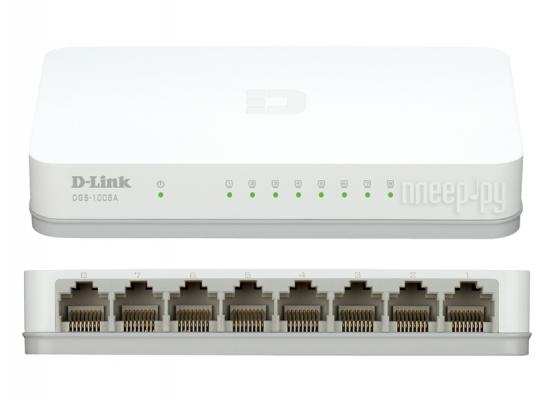 D-Link DES-1008A 8-Port 10/100 Unmanage Switch