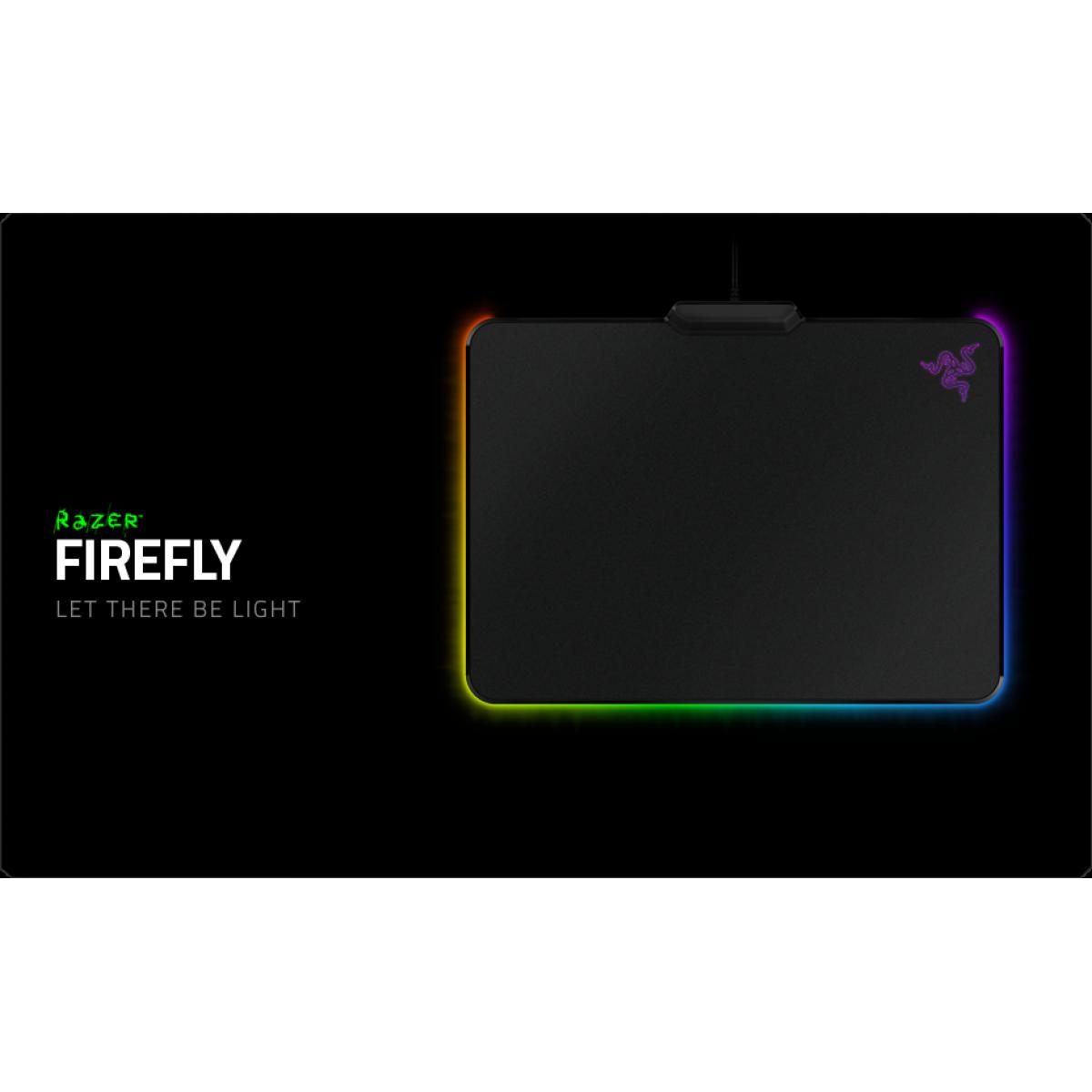 Razer Firefly Hard Gaming Mouse Mat Chroma Rz02