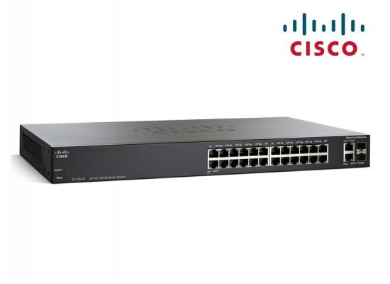 Cisco Smart 24-Port 10/100Mbps + 1000Mbps PoE