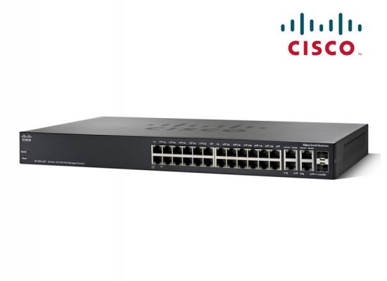 Cisco 24-port 10/100 PoE Managed  w/ Gigabit Uplinks