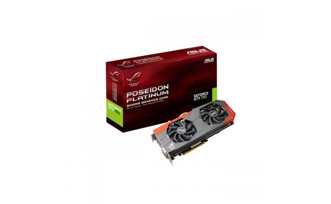 Asus NVIDIA GeForce GTX 780 ROG Poseidon 3GB GDDR5