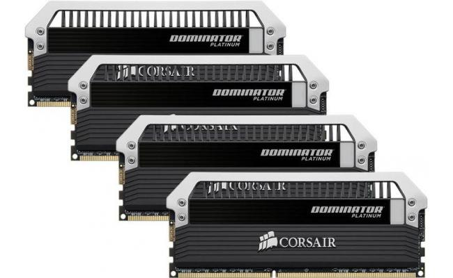 CORSAIR Dominator Platinum 32GB (4 x 8GB) 2666MHz