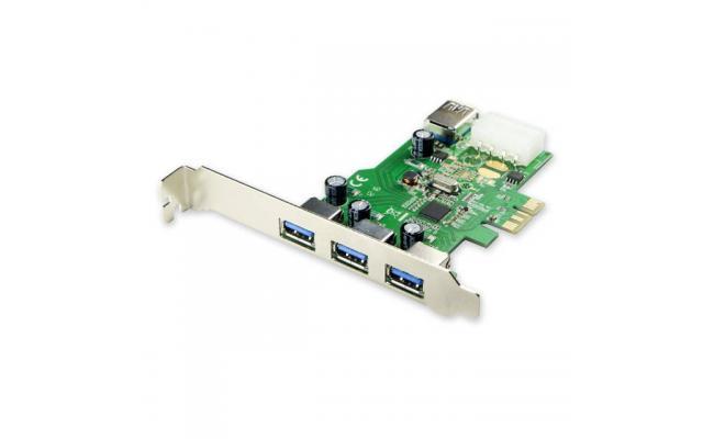 SYBA SD-PEX20137 USB 3.0 3+1-Port PCI-Express