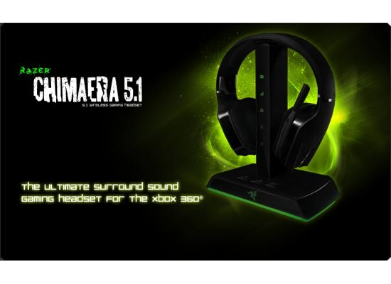 Razer Chimaera Headset 5.1 Wireless - Xbox / PC - Open Box