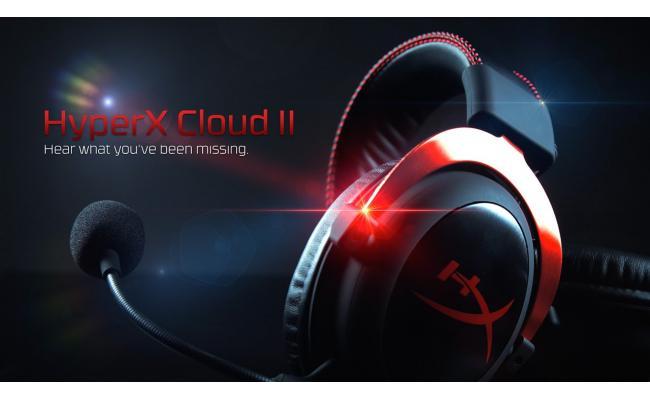 HyperX Cloud II Gaming Headset  - Red