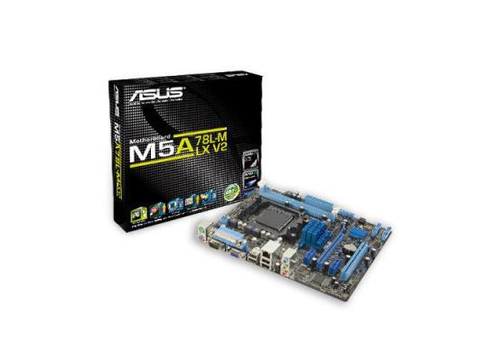 Asus M5A78L-M LX V2 Socket AM3+/ AMD 760G/ MicroATX