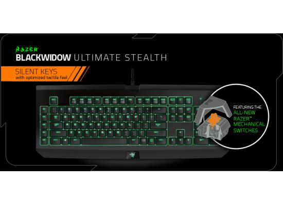 RAZER Blackwidow Ultimate Stealth Gaming Keyboard